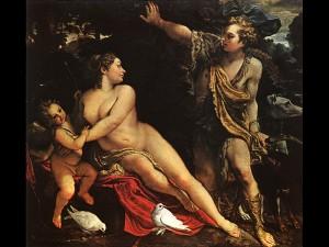 Annibal CARRACHE, Le Triomphe de Bacchus et d'Ariane