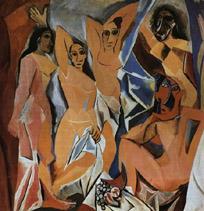 Les demoiselles d'Avignon de Picasso - MOMA