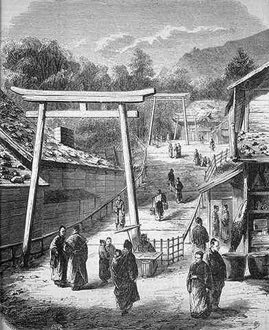 Le Japon en 1853