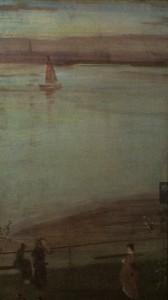 James Abbott McNeill Whistler: Variations en violet et vert, 1871