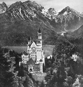 La château de Neuschwanstein