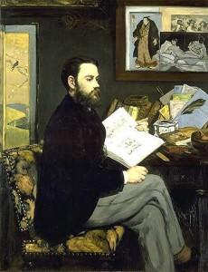 Émile Zola par Manet - Musée d'Orsay