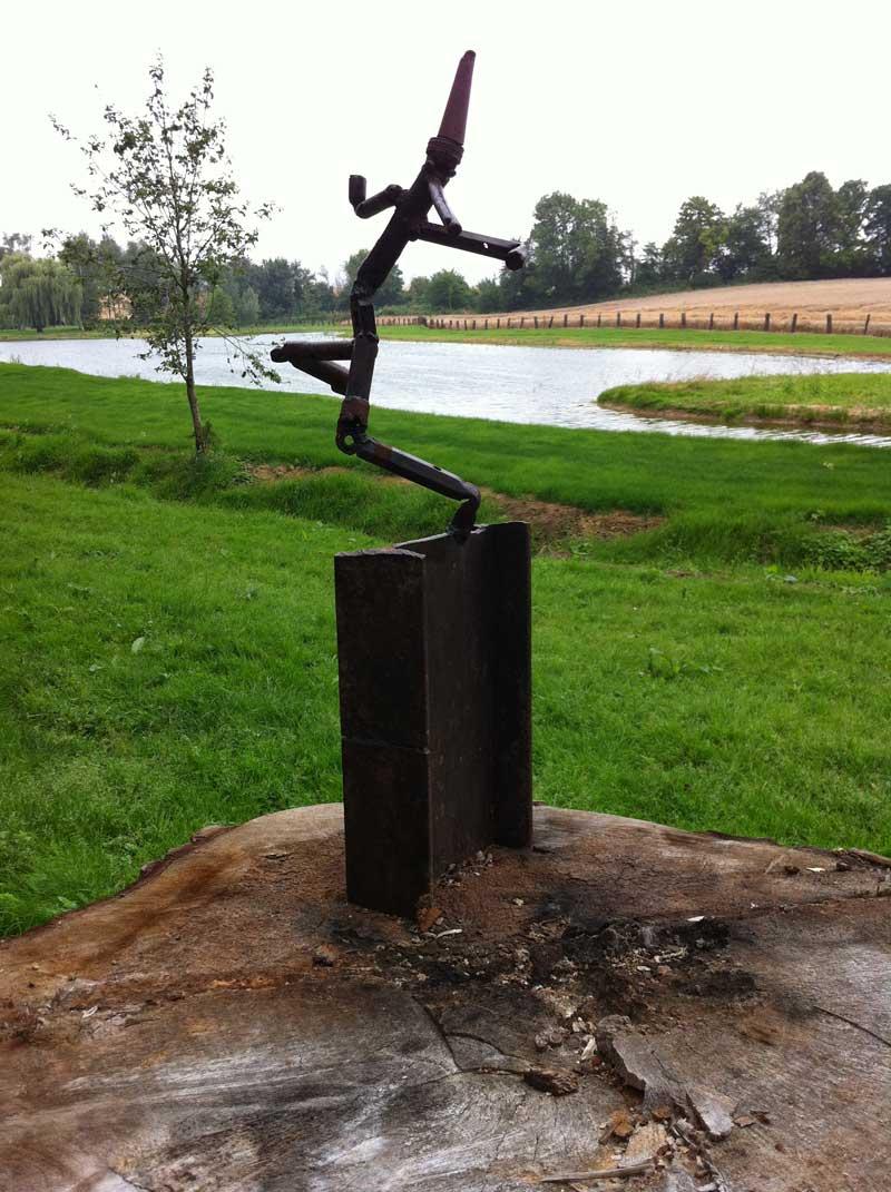 Pinocchio, sculpture de Maryvonne Pellay