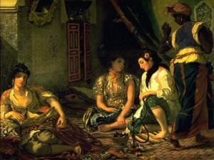 Delacroix, femmes d'Alger
