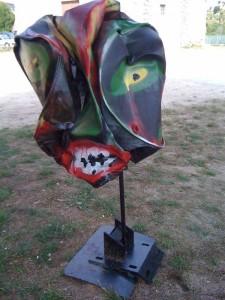 sculpture de Maryvonne Pellay
