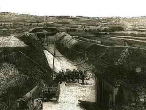Utilisation de la dynamite XIXe