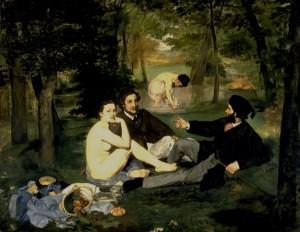 Le Déjeuner sur l'herbe de Manet - Musée d'Orsay