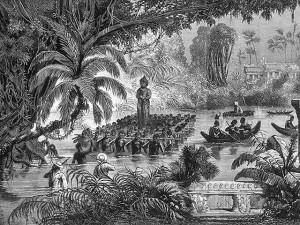 Protectorat français au Cambodge - 1863