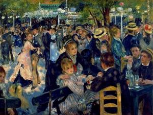 Auguste Renoir, Le bal du Moulin de la Galette