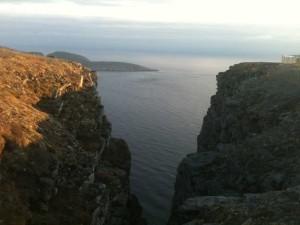 Cap Nord - 1 heures du matin - 14 juin