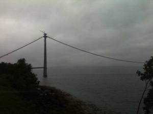 Narvik, pont en construction