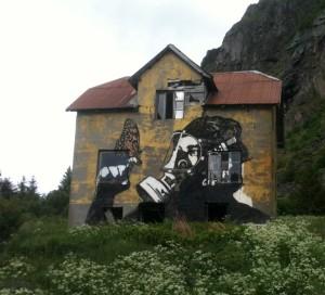graff près de Hov