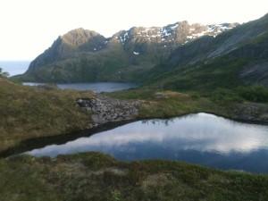 Sørvågen les lacs