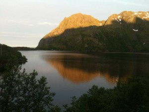le lac du Mukebu - 4 h du matin juin
