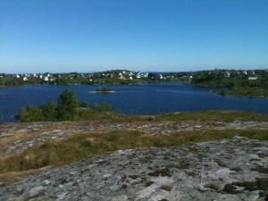 Le lac de Sørvågen