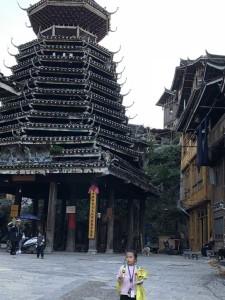 la mère pagode dans le village des Dong
