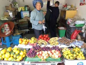 étal de fruits, Huangguoshu