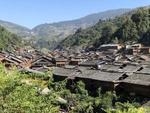 village Dong dans le Guizhou