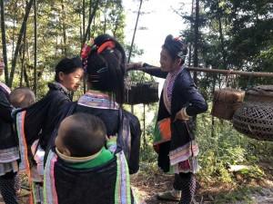 peuple Basha dans le Guizhou
