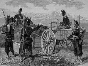 Les fusils Chassepot en 1867