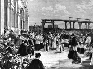 le Voeu au Sacré-Coeur, en 1873