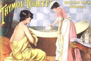 Publicité bain de beauté